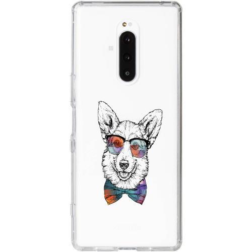 Sony Xperia 1 Thin Case Hund