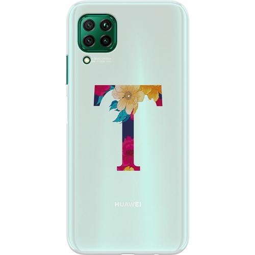 Huawei P40 Lite Thin Case Bokstaven - T