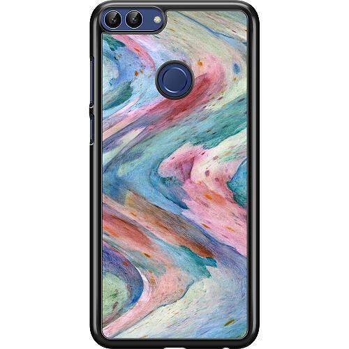Huawei P Smart (2018) Hard Case (Black) Warped Existence