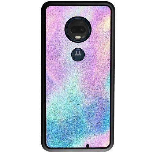 Motorola Moto G7 Plus Mobilskal Frosted Lavendel