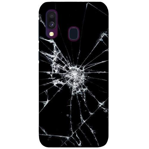 Samsung Galaxy A40 LUX Mobilskal (Matt) Crushed Hope
