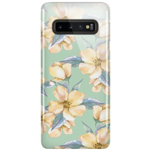 Samsung Galaxy S10 Plus LUX Mobilskal (Glansig) Waterproof Flowers