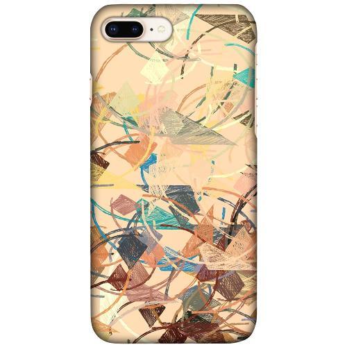 Apple iPhone 7 Plus LUX Mobilskal (Matt) Colourful Expectations