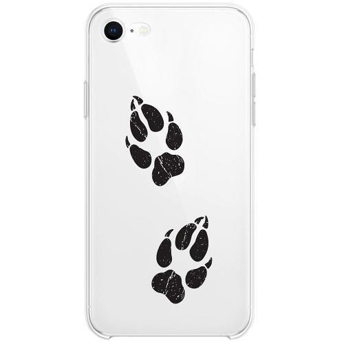 Apple iPhone SE (2020) Thin Case Paw Prints