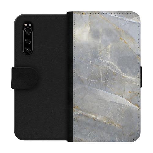 Sony Xperia 5 Plånboksfodral Coarse Stone