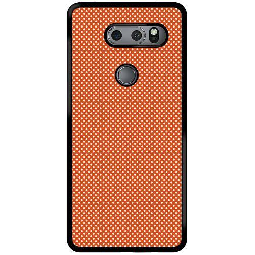 LG V30S ThinQ Mobilskal Orange Droplets
