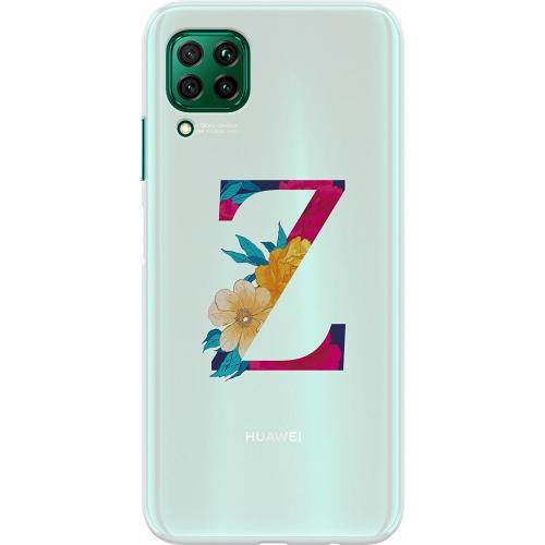 Huawei P40 Lite Thin Case Bokstaven - Z