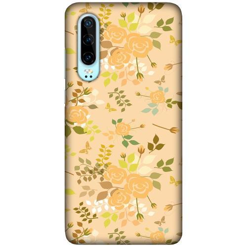 Huawei P30 LUX Mobilskal (Matt) Flowery Tapestry
