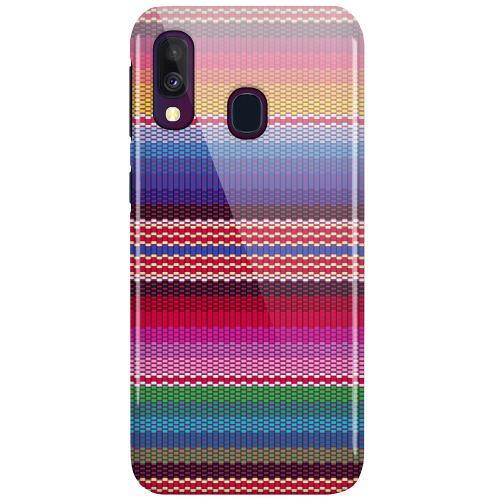 Samsung Galaxy A40 LUX Mobilskal (Glansig) Vivid Tapestry