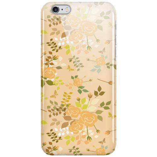 Apple iPhone 6 Plus / 6s Plus LUX Mobilskal (Glansig) Flowery Tapestry