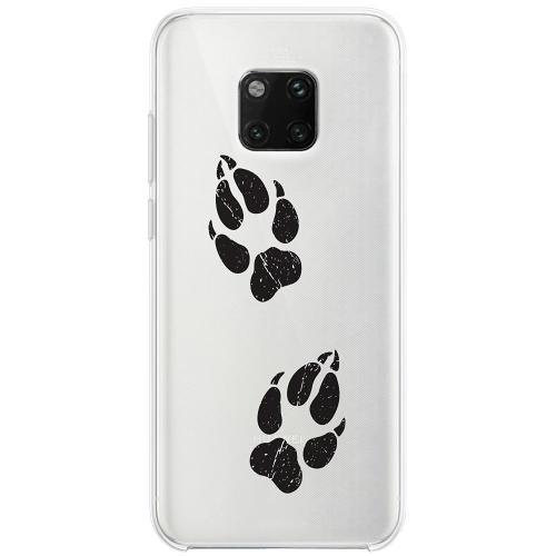 Huawei Mate 20 Pro Thin Case Paw Prints