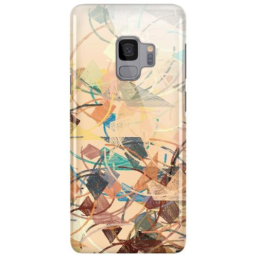 Samsung Galaxy S9 LUX Mobilskal (Glansig) Colourful Expectations