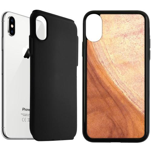 Apple iPhone XS Max Duo Case Svart Microscopic Prospect