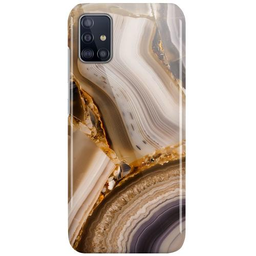 Samsung Galaxy A51 LUX Mobilskal (Glansig) Amber Agate