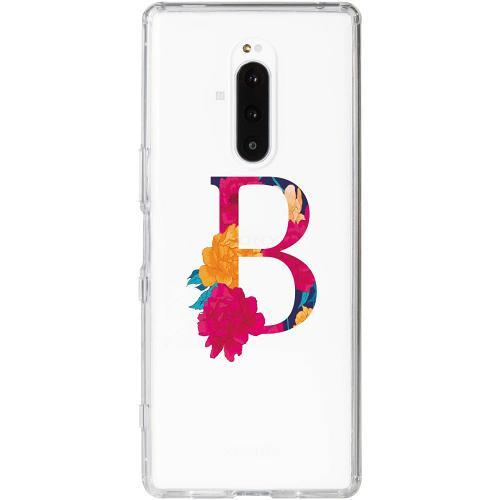 Sony Xperia 1 Thin Case Bokstaven - B