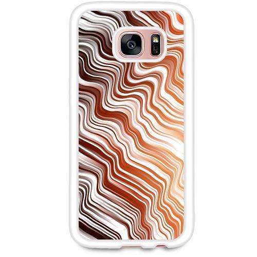 Samsung Galaxy S7 Mobilskal Distorted Soundwaves