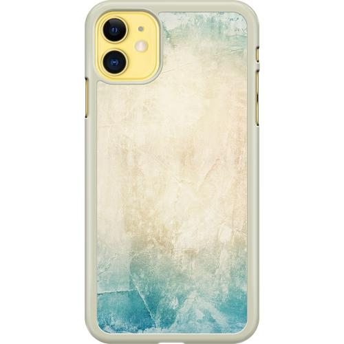 Apple iPhone 11 Hard Case (Transparent) Light Hue of Blue