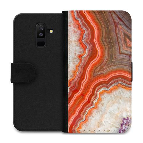 Samsung Galaxy A6 Plus (2018) Plånboksfodral Molten Dispersal