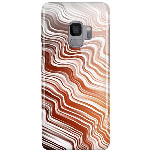 Samsung Galaxy S9 LUX Mobilskal (Glansig) Distorted Soundwaves
