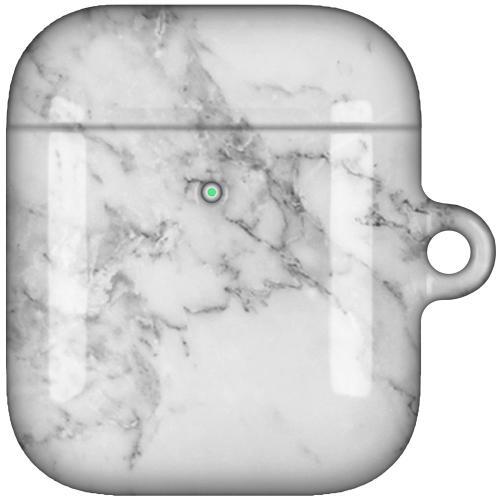 AirPods LUX Case (Glansig) - Marmor Vit