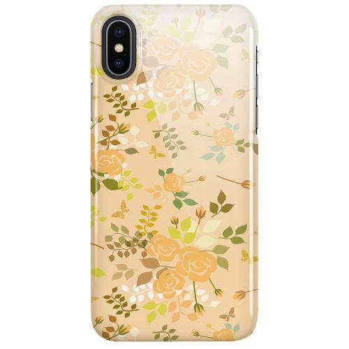 Apple iPhone X / XS LUX Mobilskal (Glansig) Flowery Tapestry