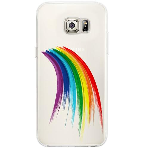 Samsung Galaxy S6 Edge Firm Case Rainbow