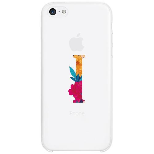 Apple iPhone 5c Firm Case Bokstaven - I