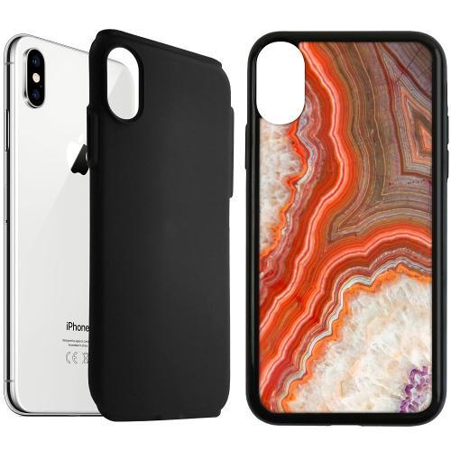 Apple iPhone XS Max Duo Case Svart Molten Dispersal