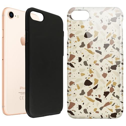 Apple iPhone SE (2020) LUX Duo Case It's Tile