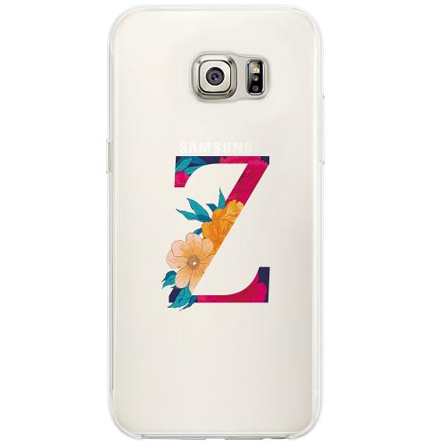 Samsung Galaxy S6 Edge Firm Case Bokstaven - Z