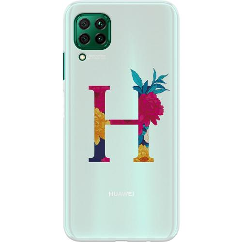 Huawei P40 Lite Thin Case Bokstaven - H