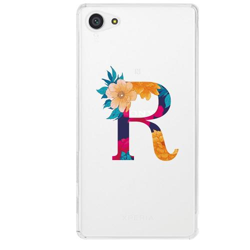 Sony Xperia Z5 Compact Firm Case Bokstaven - R