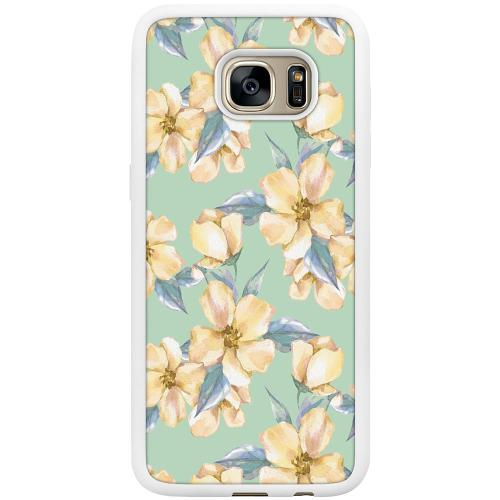 Samsung Galaxy S7 Edge Mobilskal Waterproof Flowers