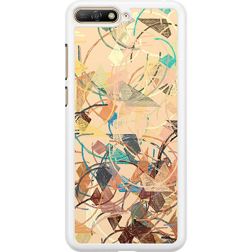 Huawei Y6 (2018) Hard Case (White) Colourful Expectations