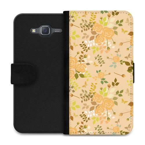 Samsung Galaxy J5 Plånboksfodral Flowery Tapestry