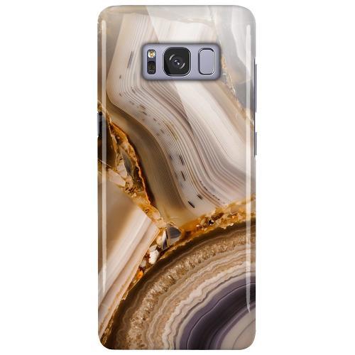Samsung Galaxy S8 LUX Mobilskal (Glansig) Amber Agate