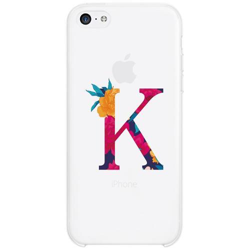 Apple iPhone 5c Firm Case Bokstaven - K