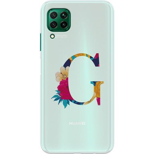 Huawei P40 Lite Thin Case Bokstaven - G