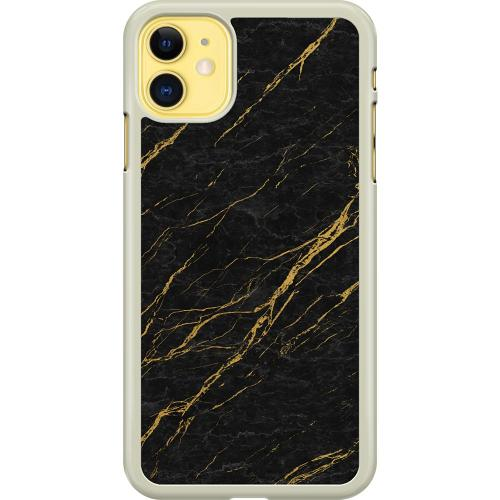 Apple iPhone 11 Hard Case (Transparent) Stormy Circumstances