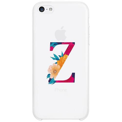 Apple iPhone 5c Firm Case Bokstaven - Z