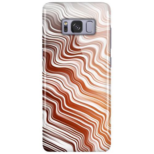 Samsung Galaxy S8 LUX Mobilskal (Glansig) Distorted Soundwaves