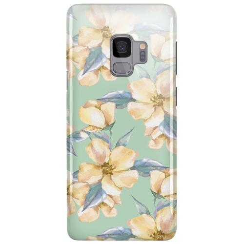 Samsung Galaxy S9 LUX Mobilskal (Glansig) Waterproof Flowers