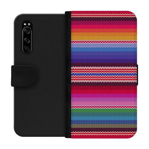 Sony Xperia 5 Plånboksfodral Vivid Tapestry