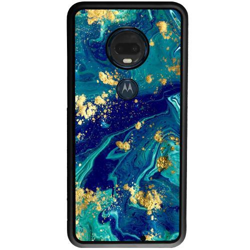 Motorola Moto G7 Plus Mobilskal Golden Disarray