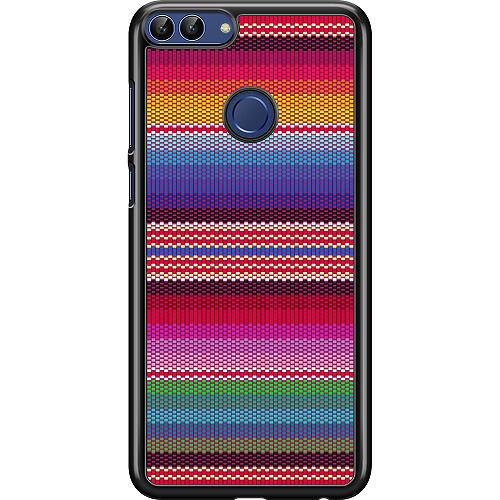 Huawei P Smart (2018) Hard Case (Black) Vivid Tapestry