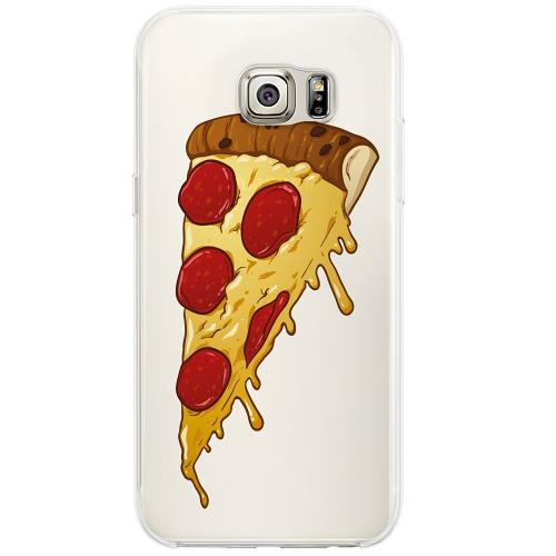 Samsung Galaxy S6 Edge Firm Case Pizza