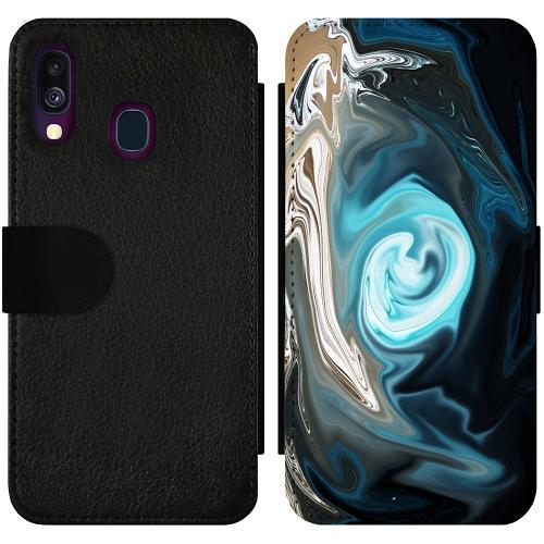 Samsung Galaxy A40 Wallet Slimcase Twisted Reality