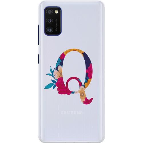 Samsung Galaxy A41 Thin Case Bokstaven - Q