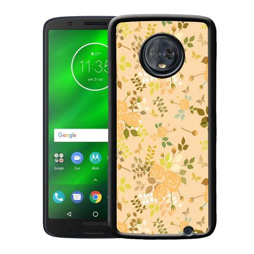 Motorola Moto G6 Plus Mobilskal Flowery Tapestry