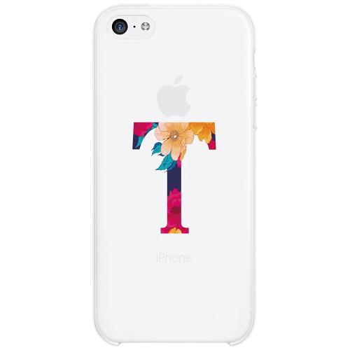 Apple iPhone 5c Firm Case Bokstaven - T